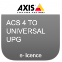 AXIS CAMERA STATION 4 TO UNIVERSAL UPG E-LICENSE