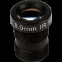 Objectif mégapixel M12 8,0 mm 10 pcs