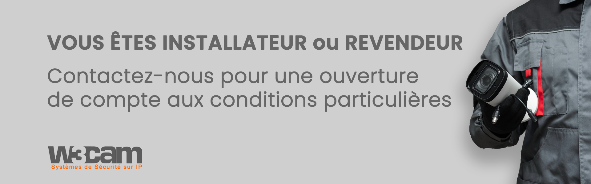 Revendeur/Installateur